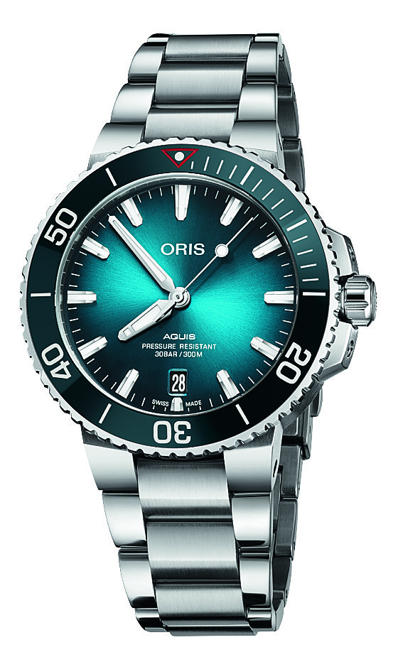 Oris Aquis Date Clear Ocean Limited Edition