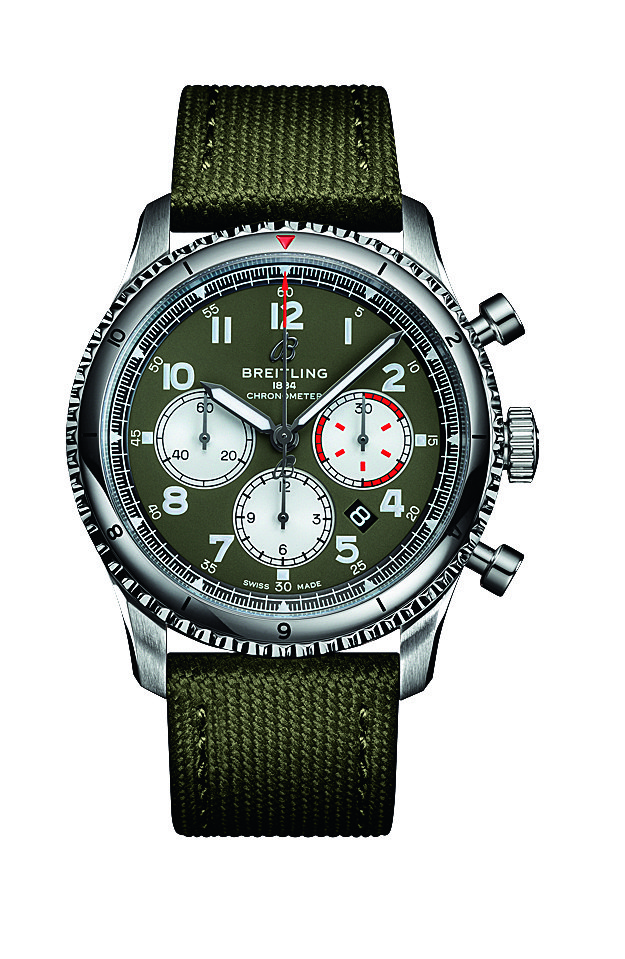 Breitling Aviator 8 B01 Chronograph 43 Curtiss Warhawk