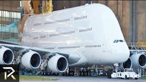 10 Abnormally Large Airplanes That Actually Exist — 4,669,510 просмотров