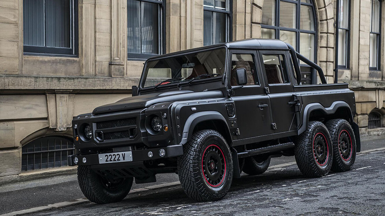 Land Rover Defender Double Cab Pickup 6x6