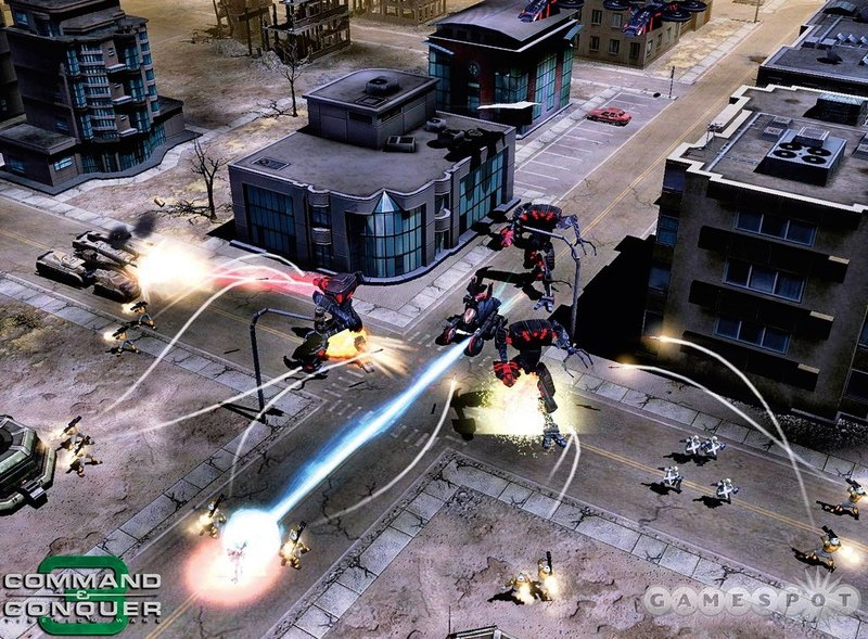 Command & conquer 3: tiberium wars railgun