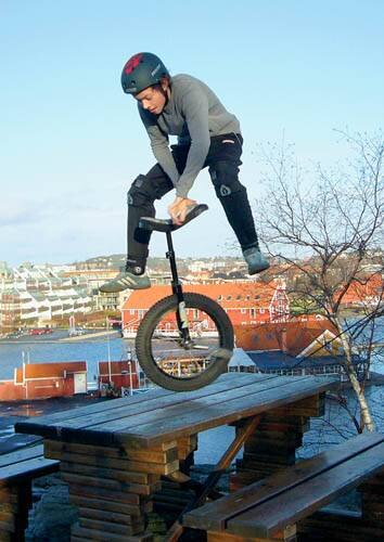 Trial Unicycle. Триал