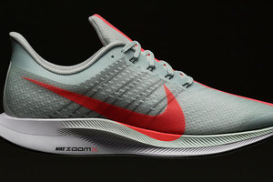 Nike экспериментирует с законами физики в кроссовках Nike Zoom Pegasus Turbo