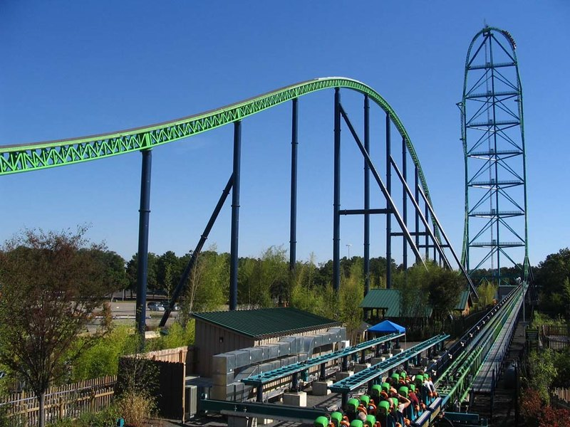 Кингда Ка (Kingda Ka) // Six Flags Great Adventure, Джексон, Нью Джерси