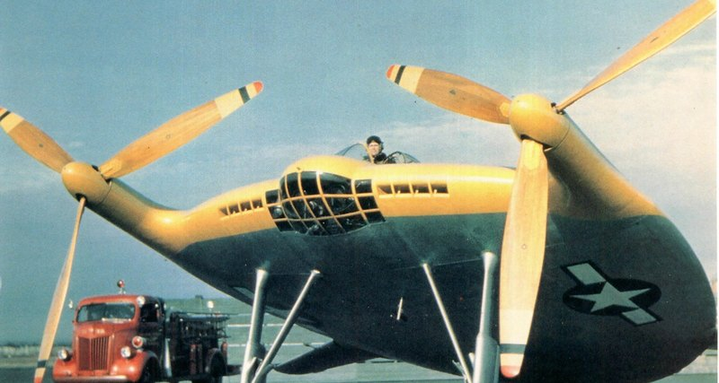 Самолёт дня: Vought V-173 «Flying Pancake»