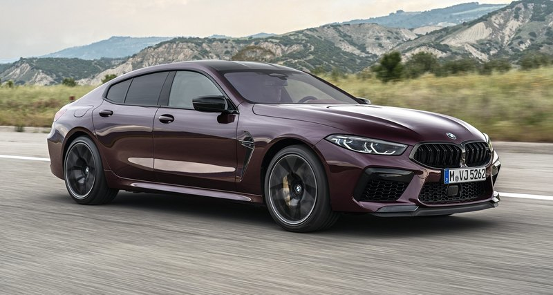 BMW представила 625-сильный M8 Competition Gran Coupe