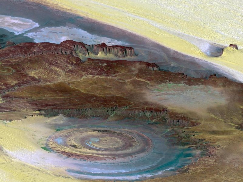 he Richat Structure