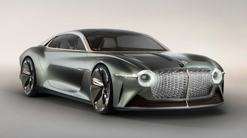 Концепт Bentley EXP 100 GT