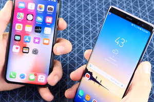 iPhone X против Galaxy Note8: кто быстрее?