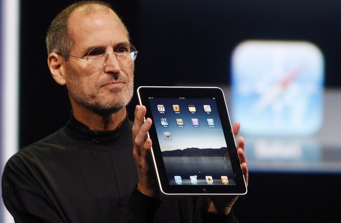 Apple iPad — апрель 2010