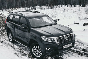 Младший брат: тест Toyota Land Cruiser Prado