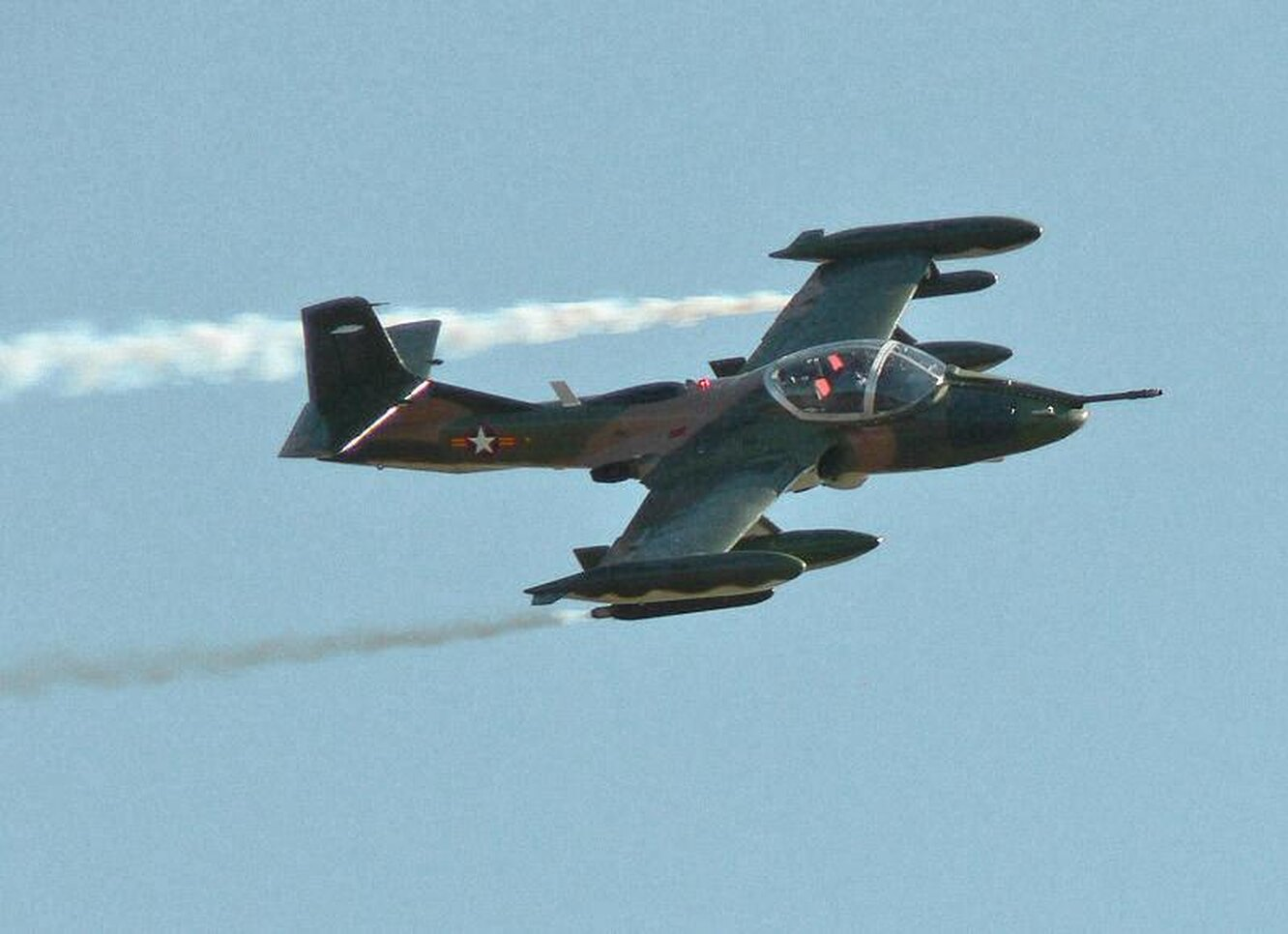 1967. A-37 Dragonfly