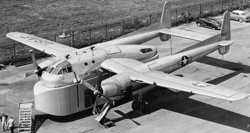 Самолёт дня: Fairchild XC-120 Packplane