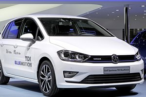 Golf Sportsvan TDI BlueMotion: 3,6 л/100 км